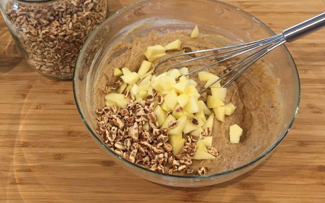 muffin-mele-e-farro-step-2