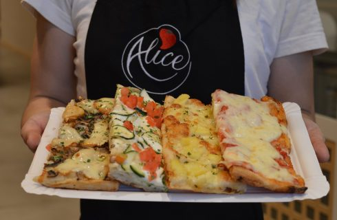 La pizza romana in teglia: parla Alice Pizza