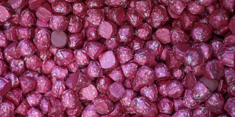 Il Bacio Perugina diventa rosa e si chiama Ruby