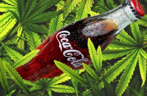 La nuova Coca-Cola sarà alla marijuana?