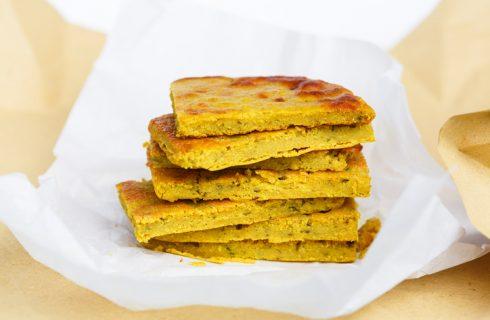 Come preparare la frittata vegan con farina di lupini