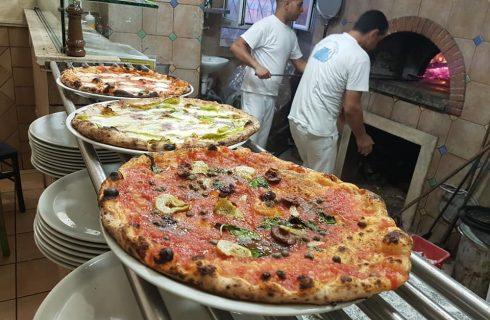Storia della pizza romana: La Gatta Mangiona