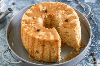 Angel cake al caffè: facciamo colazione