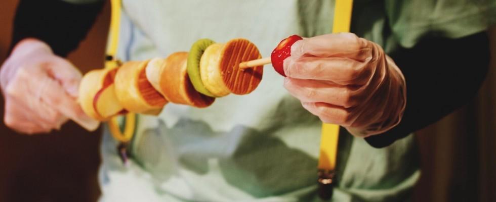 Giappone: cosa sono i kushi pancake?