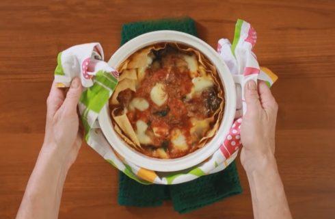 Lasagne con melanzane: pasta al forno vegetariana