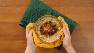 Parmigiana di funghi e patate: una lode all'autunno
