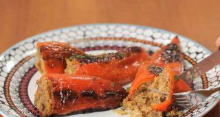 Peperoni cornetti ripieni, gustosi e saporiti