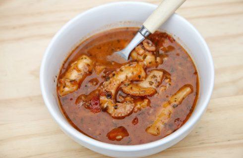 Polipetti con il sugo, la ricetta del secondo di pesce