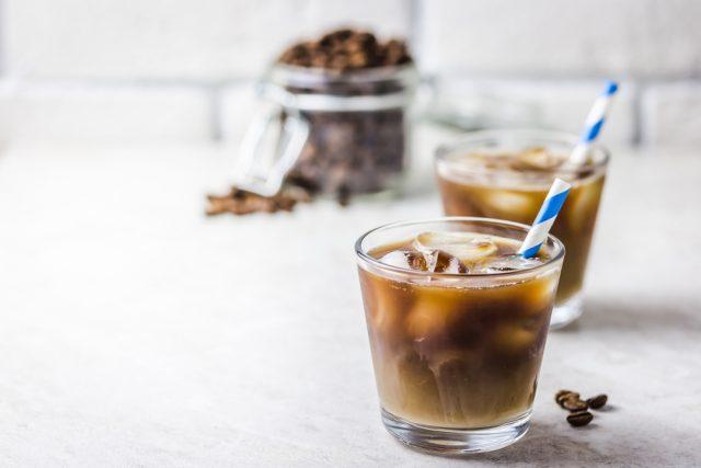caffè e latte di mandorla