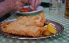 Street food tradizionali: filetti di baccalà