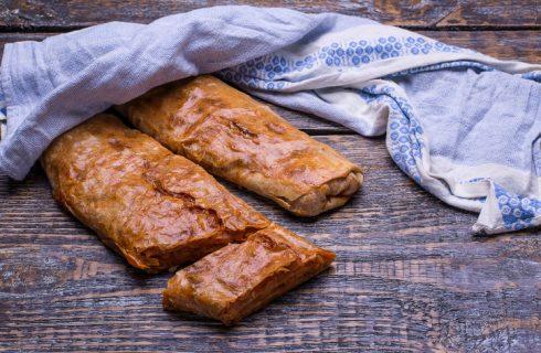 Lo strudel di cipolle con la ricetta di Benedetta Parodi