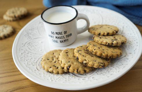 Biscotti avena e cioccolato: impossibile resistere