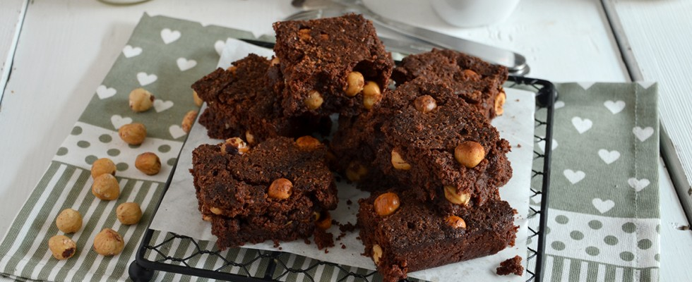 Brownies alle nocciole: impossibile resistere
