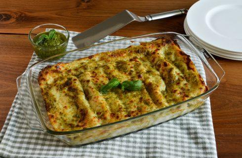 Cannelloni al pesto: perfetti per una cena tra amici