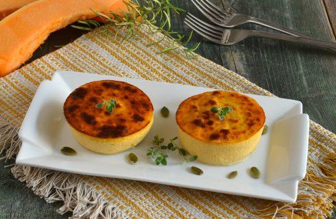 Flan alla zucca e parmigiano: antipasto autunnale