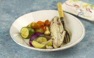 Gallinella di mare al forno: secondo di pesce leggero
