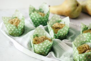 Muffin alla pera e pistacchi al bimby