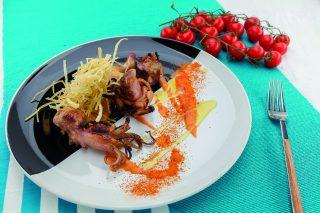 Moscardini al barbecue: secondo piatto sfizioso e semplice