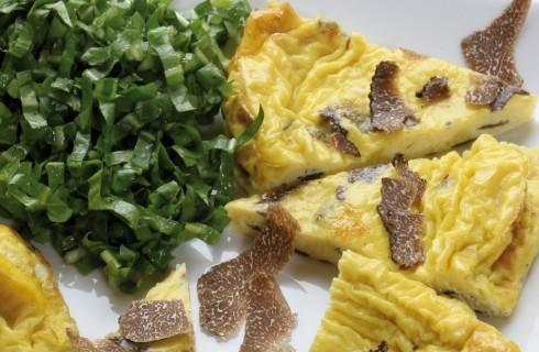 Omelette al tartufo al bimby