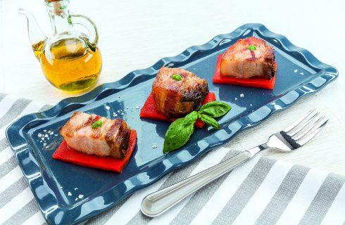 Pancetta croccante al barbecue: secondo sfizioso