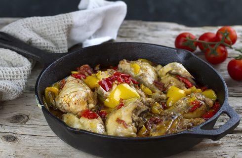Pollo alla romana: secondo piatto tradizionale