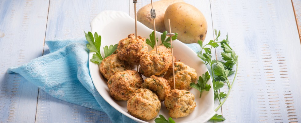 Polpette di patate: finger food autunnale