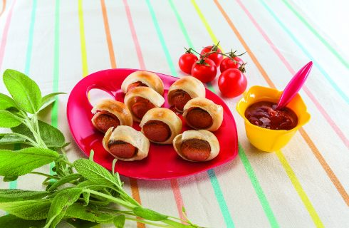Salatini ai würstel al barbecue: il perfetto finger food