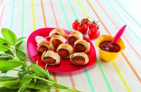 Salatini ai würstel al barbecue: il perfetto finger food