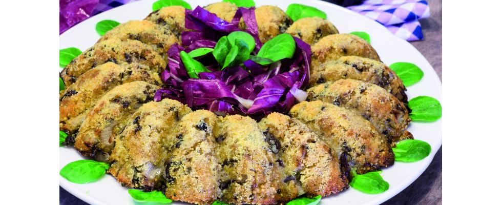 Sformato di miglio e radicchio: cucina vegana