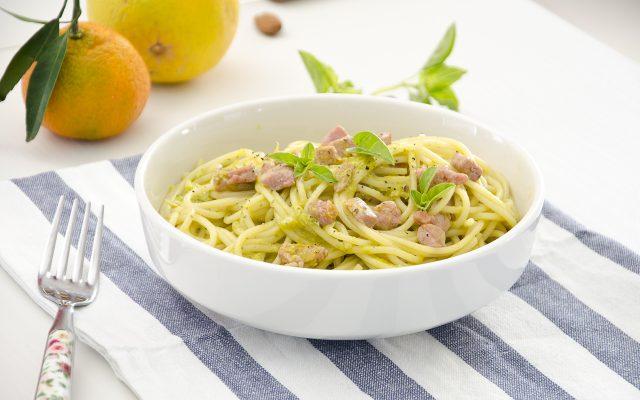 spaghetti-pesto-e-tonno-step-4