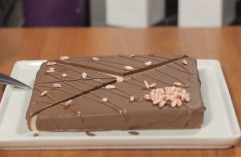 Torta cereali e cioccolato: perfetta per merenda