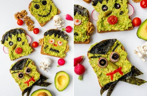 Come fare il Frankenstein toast per Halloween