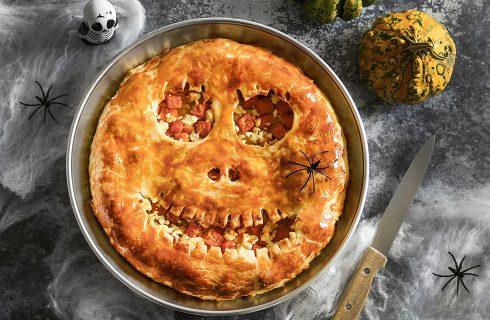 Torta mostruosa alla zucca: perfetta per Halloween