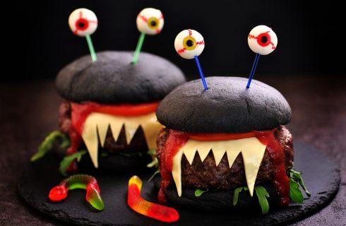 5 burger mostruosi per Halloween