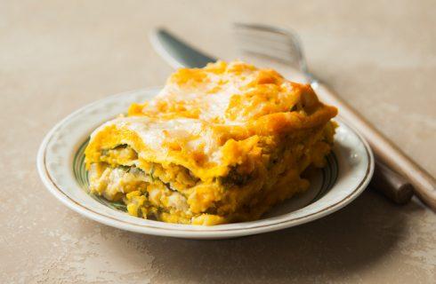 La ricetta delle lasagne di zucca e salsiccia di Benedetta Parodi