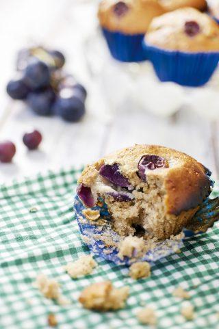 Muffin all'uva al bimby