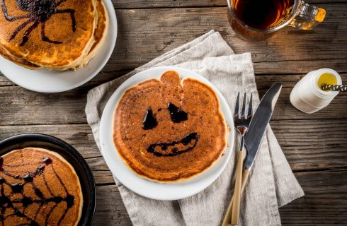 Ricette di Halloween: i pancake alla zucca