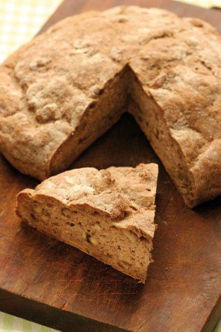 Pane con le noci al bimby
