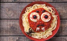 Pasta al forno horror per Halloween, la ricetta