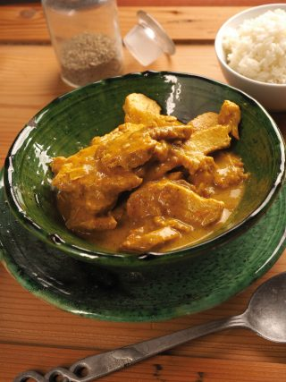 Pollo al curry al bimby