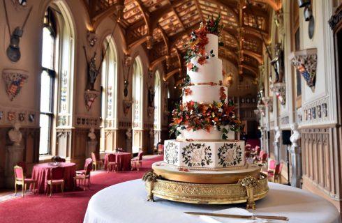 Le foto della royal wedding cake di Eugenie di York e Jack Brooksbank