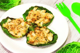 Scrigni di verza con patate, secondo vegetariano