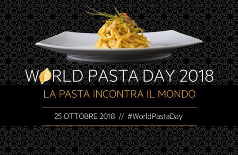 Il 25 ottobre è il World Pasta Day 2018, un evento mondiale che da 20 anni celebra l'amore per la pasta