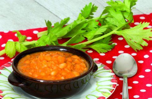 Zuppa di fagioli al pomodoro: per l'autunno