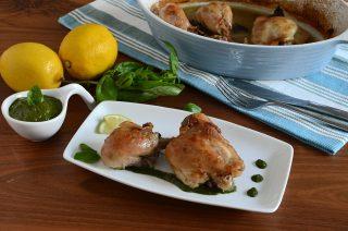 Pollo limone e basilico: secondo piatto leggero e originale