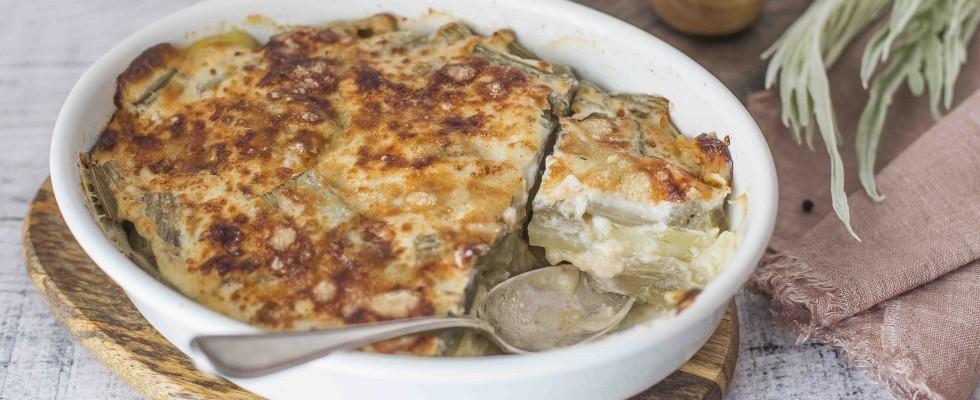 Cardi con patate: secondo piatto leggero e gustoso