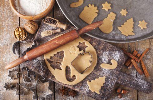 Biscotti alla vaniglia da regalare a Natale