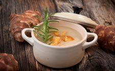 Crema di topinambur e zenzero, la ricetta facile