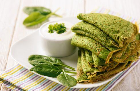 La ricetta delle crepes di farina di piselli vegan