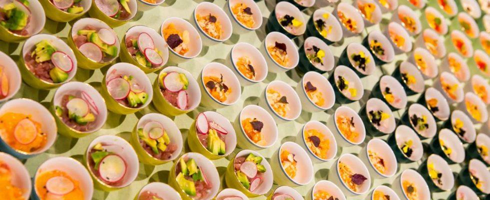 Il nuovo modo di mangiare il sushi? In tazzina